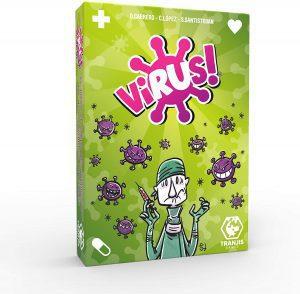Juego de mesa de cartas - juego de cartas de Virus