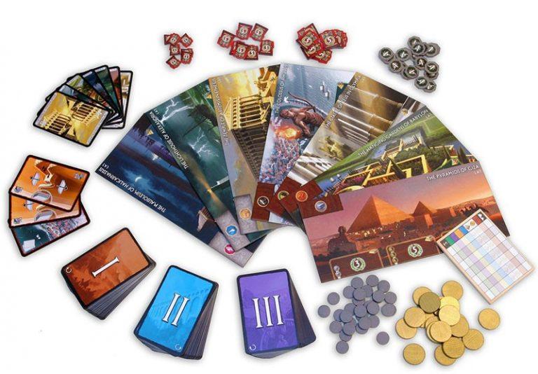 Los mejores juegos de mesa del mundo - juego de mesa 7 wonders tablero
