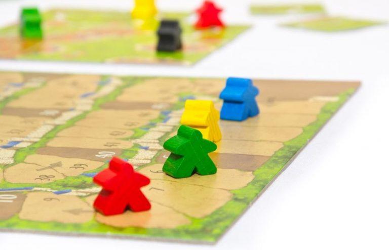 Los mejores juegos de mesa del mundo - juego de mesa Carccassone tablero