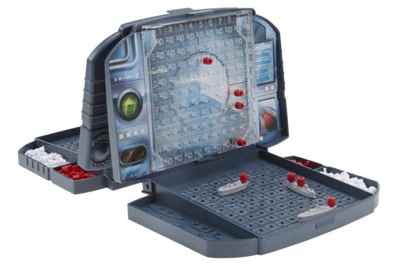 Juegos de mesa de viaje - Juegos de mesa de bolsillo - Juego de mesa de viaje hundir la flota