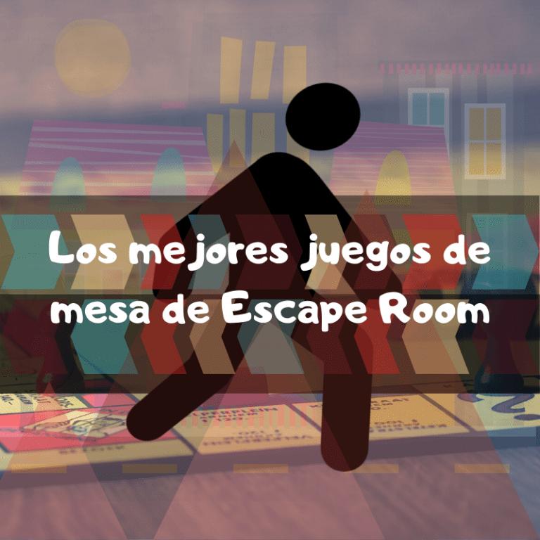 Los mejores juegos de mesa de escape Room