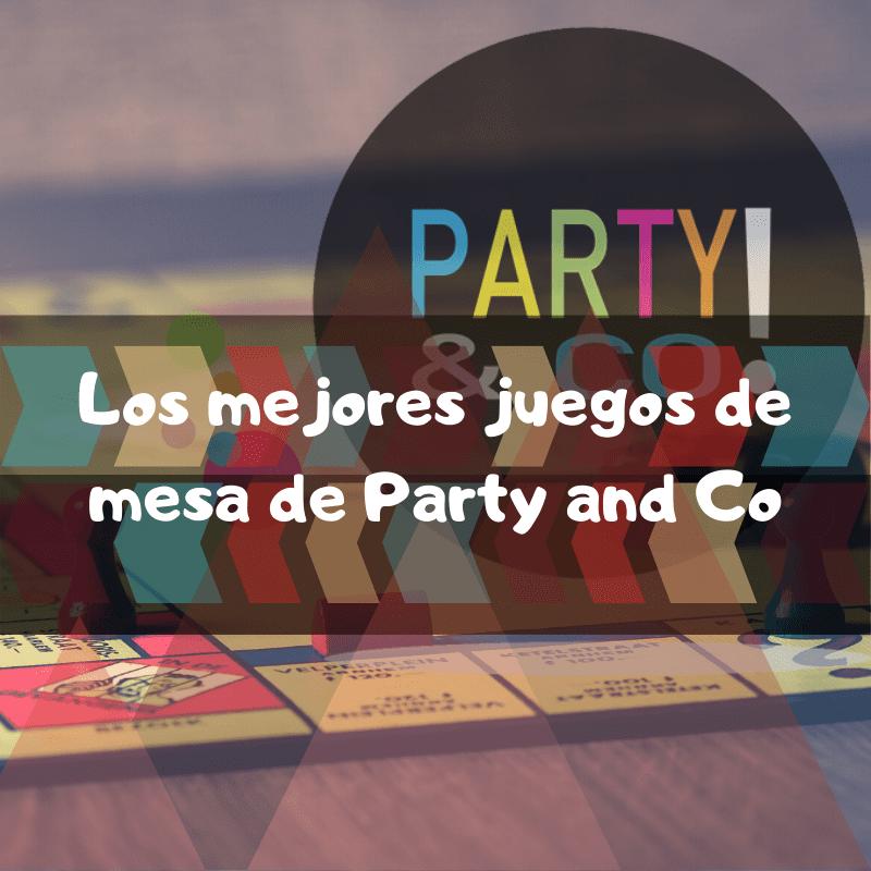 los mejores juegos de mesa de Party and Co