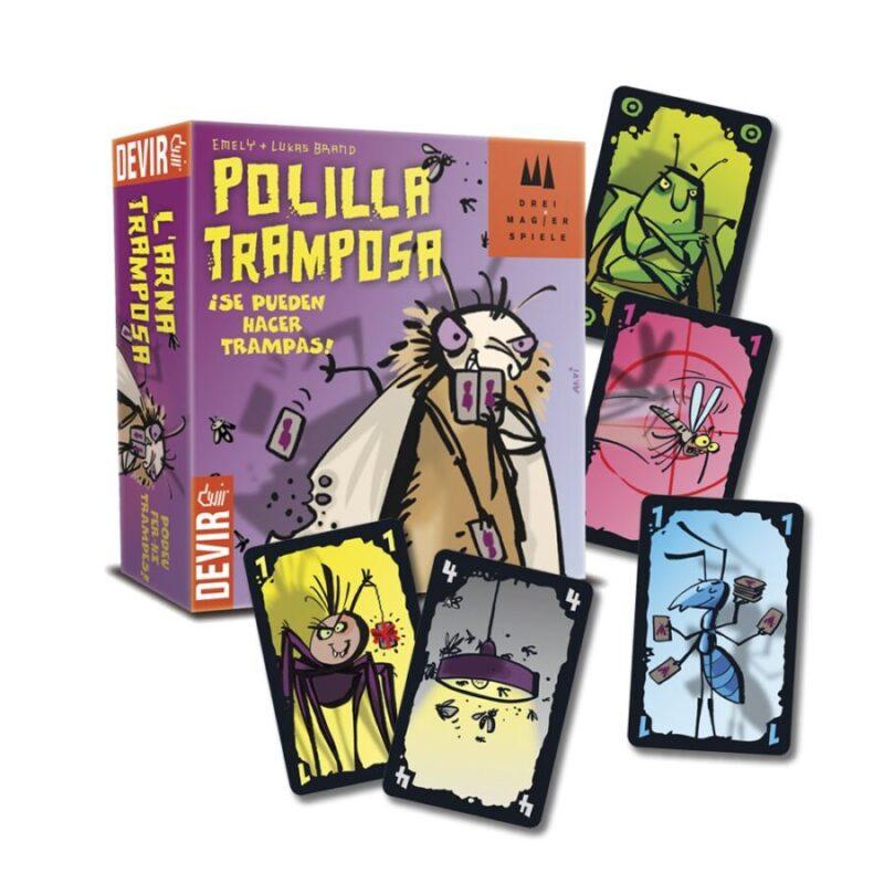 Juegos de cartas - Juego polilla