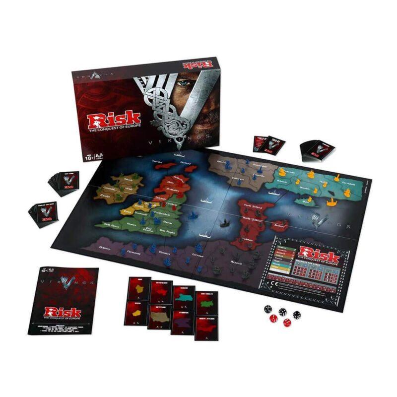 Juegos de mesa de Risk - Versiones del risk - tablero Risk Vikingos