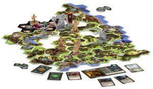 Juegos de mesa del señor de los anillos - Juego de la tierra media