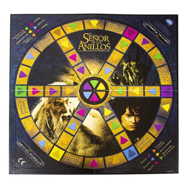 Juegos de mesa de preguntas y respuestas - Juego de trivial señor de los anillos