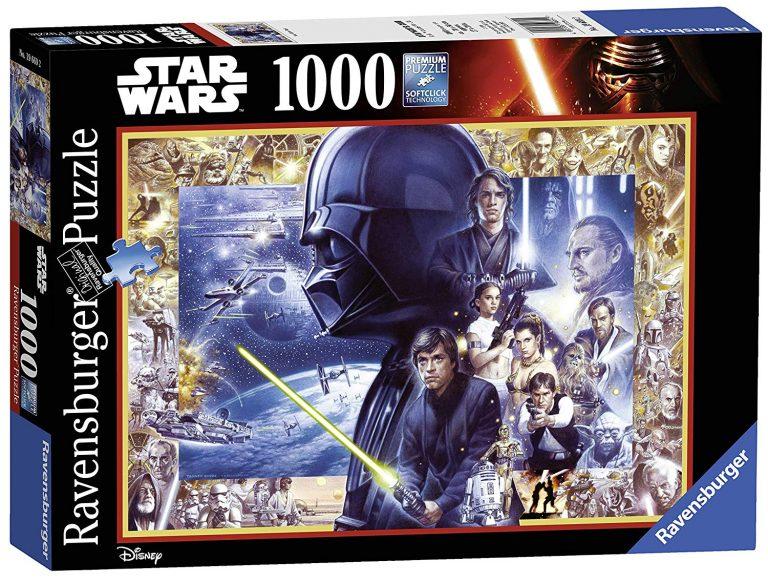 Puzzles de Star Wars de Disney - Puzzle de 1000 piezas de stars wars
