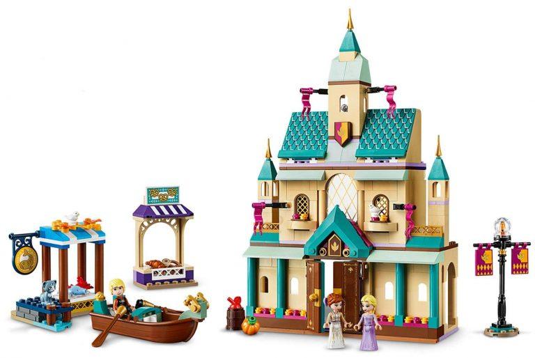 Sets de Lego de juguetes de construcción de Frozen - Lego Aldea del castillo de Arendelle 2