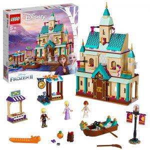 Sets de Lego de juguetes de construcción de Frozen - Lego Aldea del castillo de Arendelle