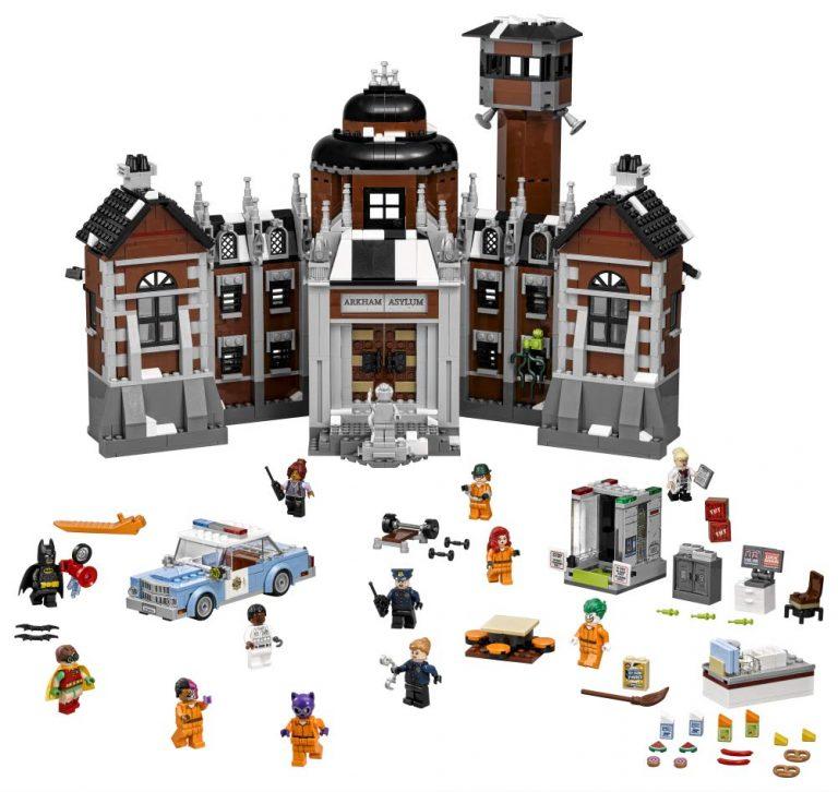 Sets de Lego de juguetes de construcción de Batman - Arkham Asylum