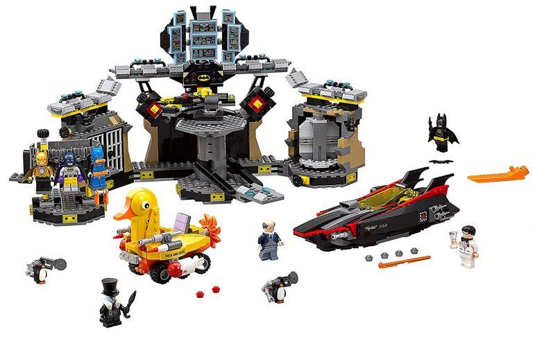 Sets de Lego de juguetes de construcción de Batman - La batcueva