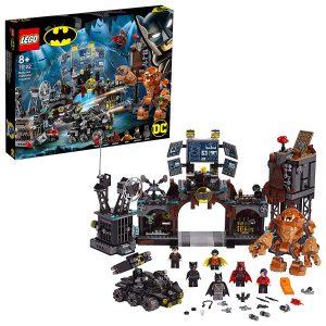 Sets de Lego de juguetes de construcción de Batman - Asalto de clayface en la batcueva