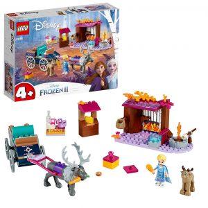Sets de Lego de juguetes de construcción de Frozen - Lego Aventura en Carreta