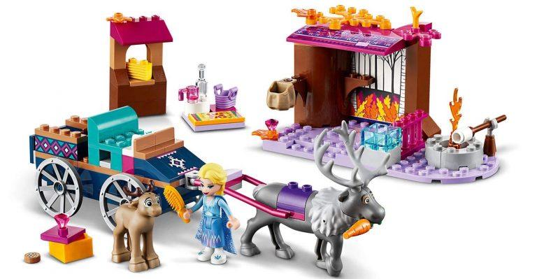 Sets de Lego de juguetes de construcción de Frozen - Lego Aventura en carreta 2
