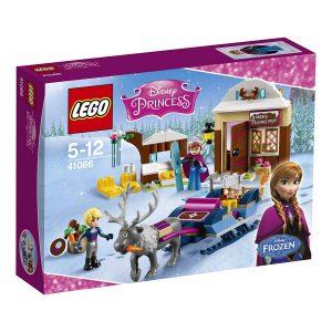 Sets de Lego de juguetes de construcción de Frozen - Lego Aventura en trineo