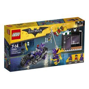 Sets de Lego de juguetes de construcción de Batman de la legopelícula de Batman - Batgirl vs Catwoman
