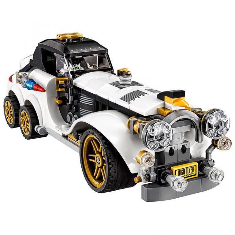 Sets de Lego de juguetes de construcción de Batman - El coche del pinguino