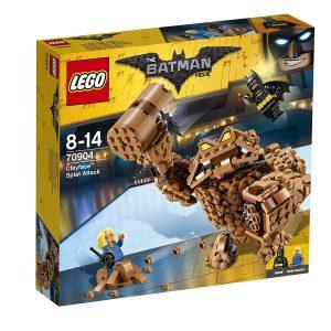 Sets de Lego de juguetes de construcción de Batman de la legopelícula de Batman - Lego Batman vs Clayface