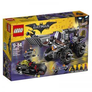 Sets de Lego de juguetes de construcción de Batman de la legopelícula de Batman - Lego Batman vs Dos caras