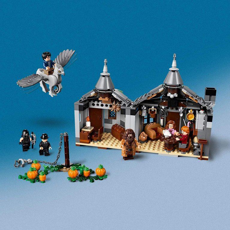 Sets de Lego de juguetes de construcción de Harry Potter - Lego Cabaña hecha