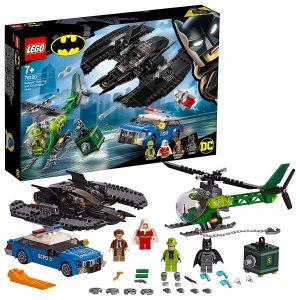 Sets de Lego de juguetes de construcción de Batman - Enigma vs Batman