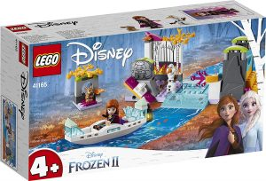 Sets de Lego de juguetes de construcción de Frozen - Lego Expedicion en canoa
