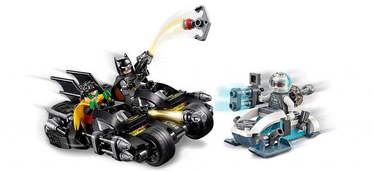 Sets de Lego de juguetes de construcción de Batman - Mr freeze vs Batman2