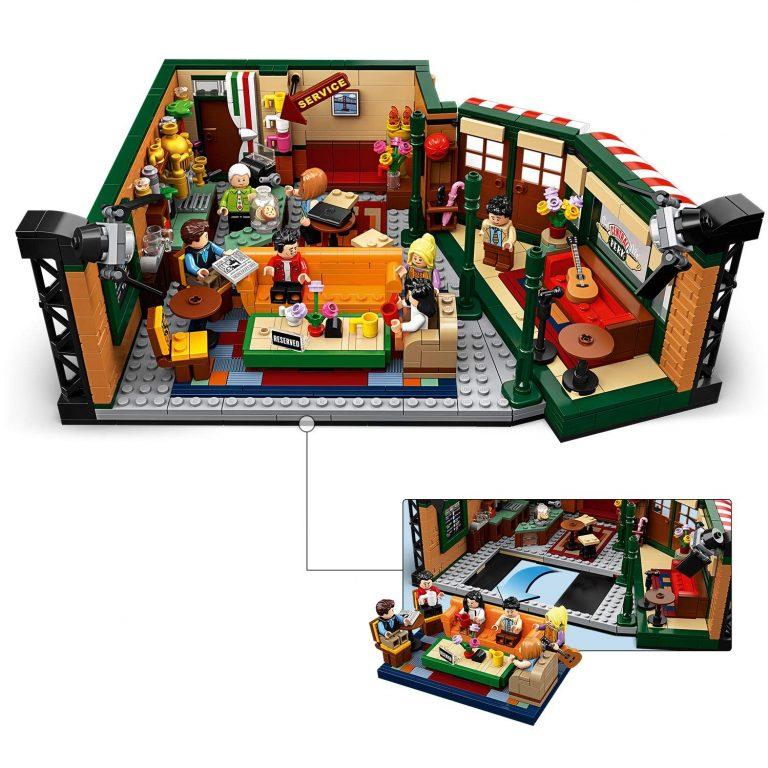 Sets de Lego de construcción de friends montado