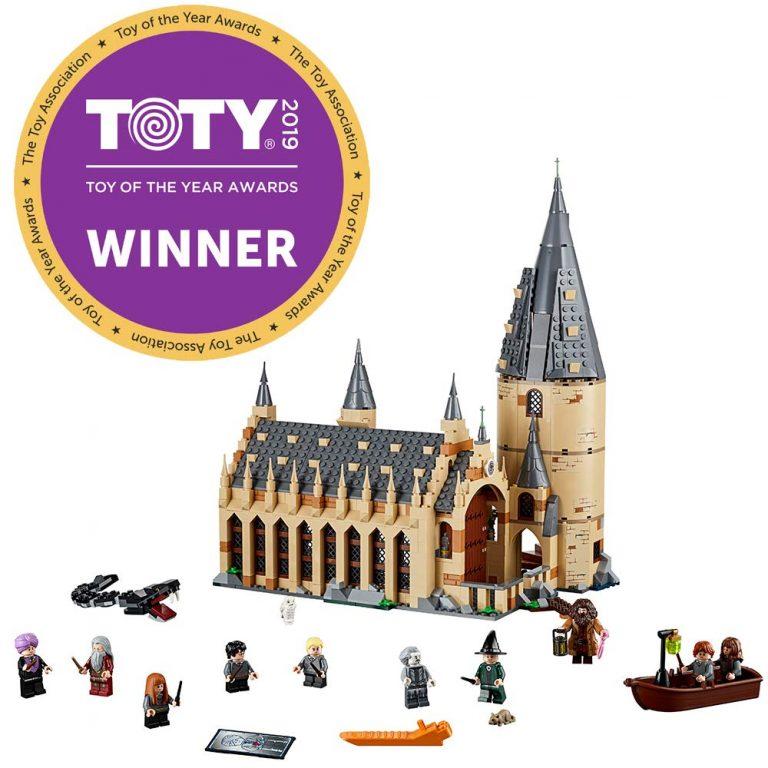 Sets de Lego de juguetes de construcción de Harry Potter - Lego Hogwarts hecho