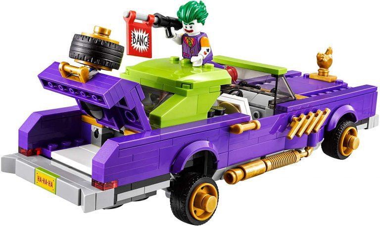 Sets de Lego de juguetes de construcción de Batman - el coche del Joker