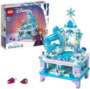 Sets de Lego de juguetes de construcción de Frozen - Lego Joyero de Elsa