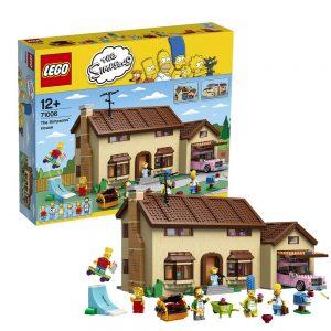 Sets de Lego de construcción de los Simpsons