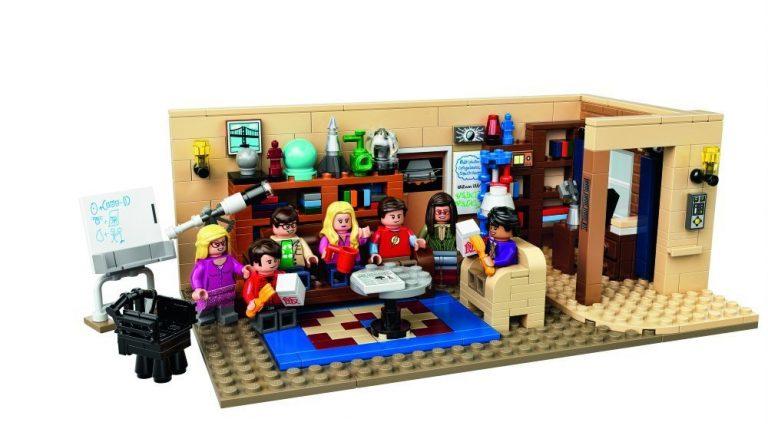 Sets de Lego de construcción TBBT hecho