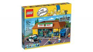Sets de Lego de construcción el badulaque de los simpsons