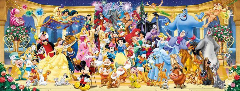 Puzzles de Disney - Panorama Disney hecho