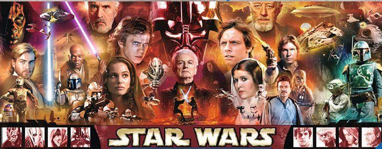 Puzzles de Star Wars de Disney - Puzzle Panoramica star wars hecho