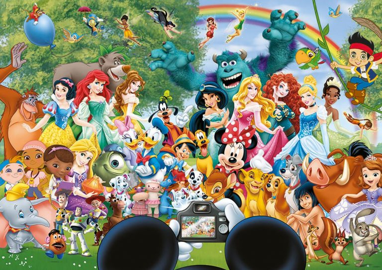 Puzzles de Disney - Puzzle Foto Disney hecho