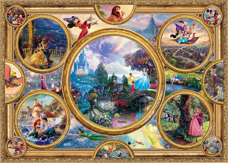Puzzles de Disney - Puzzle disney 2000 piezas