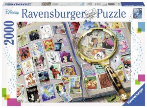 Puzzles de Disney - Puzzle de sellos de Disney
