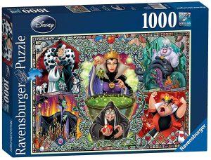 Puzzles de Disney - Puzzle de villanas de Disney