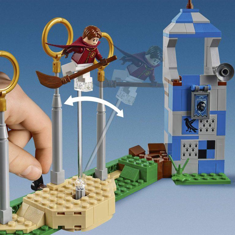 Sets de Lego de juguetes de construcción de Harry Potter - Lego Quidditch hecho