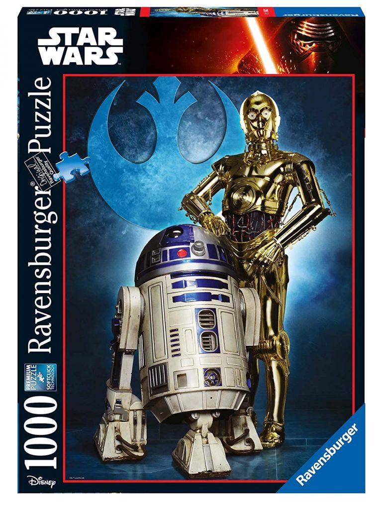 Puzzles de Star Wars de Disney - Puzzle de R2D2 y C3PO