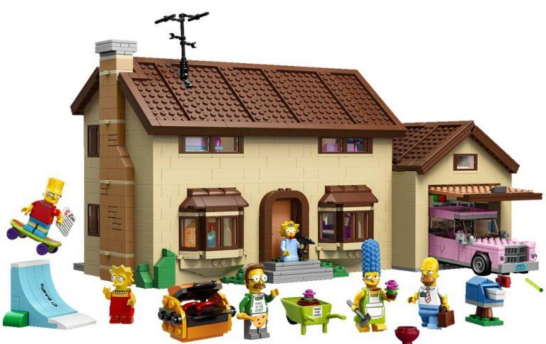 Sets de Lego de los Simpsons