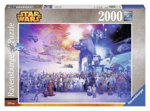 Puzzles de Star Wars de Disney - Puzzle Star Wars 2000 piezas - Puzzle personajes de Star Wars