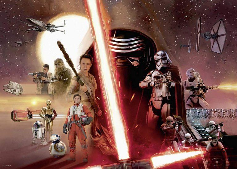 Puzzles de Star Wars de Disney - Puzzle Star Wars trilogia moderna 2