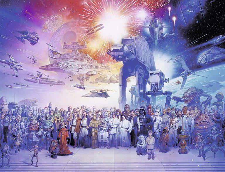 Puzzles de Star Wars de Disney - Imagen Star wars 2000 piezas de personajes