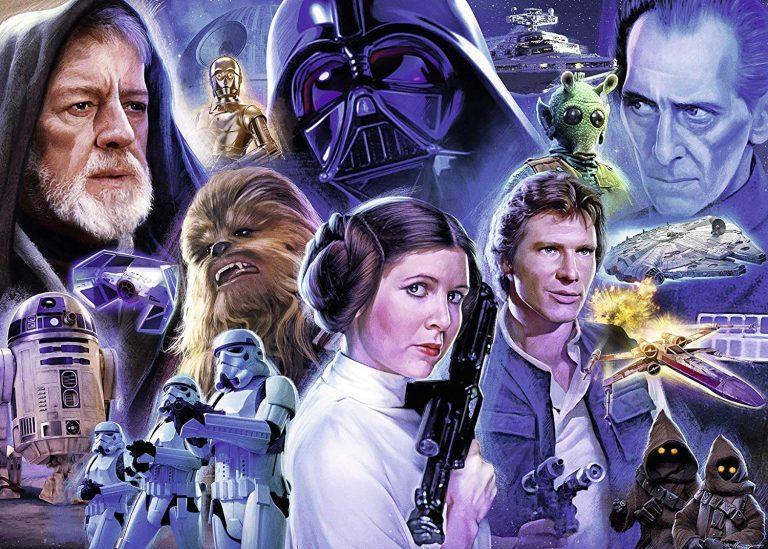 Puzzles de Star Wars de Disney - Puzzle Star wars original 1000 piezas hecho