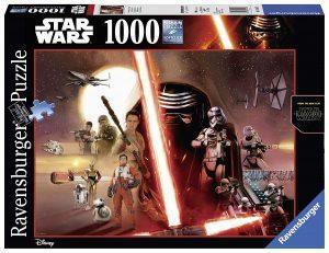 Puzzles de Star Wars de Disney - Star wars trilogia moderna