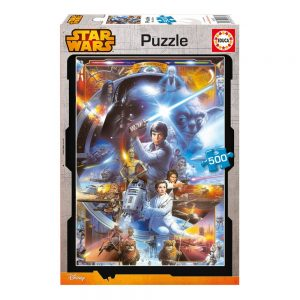 Puzzles de Star Wars de Disney - Puzzle Star wars trilogia original 500