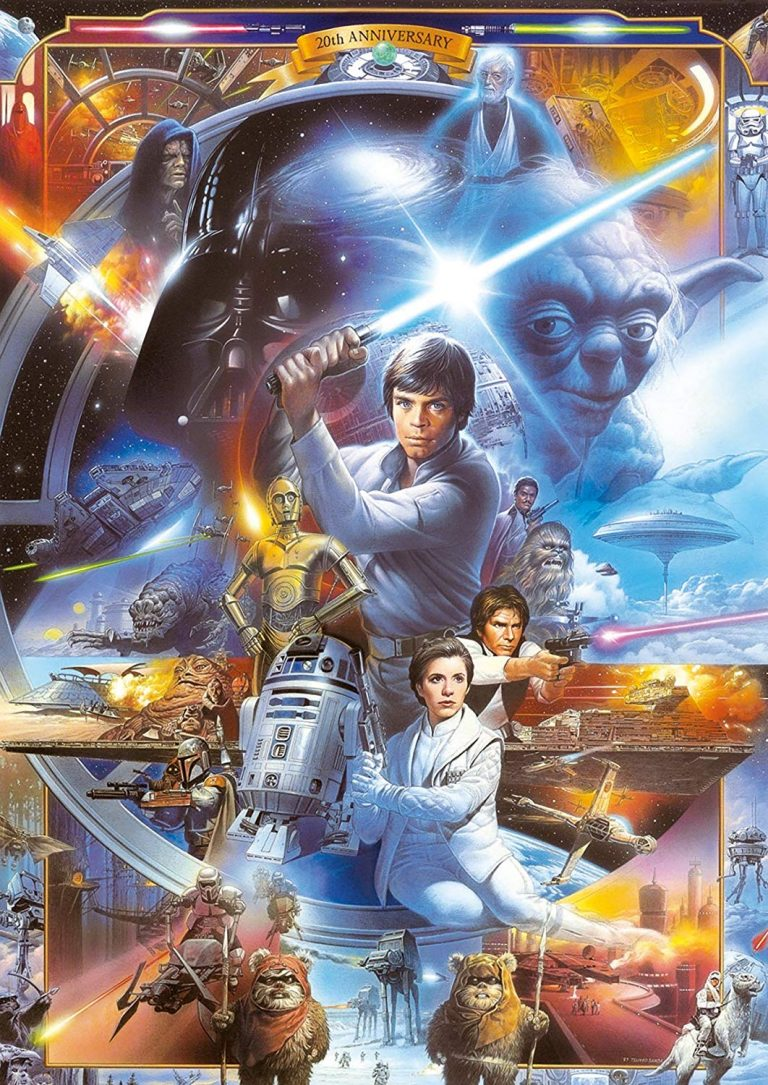 Puzzles de Star Wars de Disney - Puzzle Star wars trilogia original